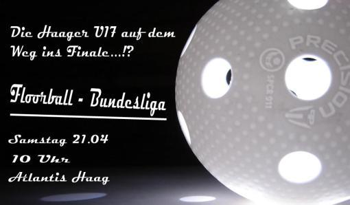 U17 Spieltag Haag am 21.04 ab 10 Uhr